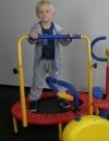 Trampolína s madlem pro děti FT 08 - 5042