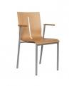 Dřevěná židle Twist 250-N1, 250-N2 - DOPRAVA ZDARMA