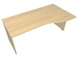Stůl kancelářský pracovní ergo vlna Hobis Standard ERG 1000