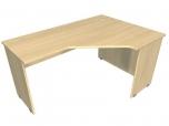 Stůl kancelářský pracovní ergo Hobis Standard ERG 60