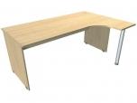 Stůl kancelářský pracovní ergo Hobis Standard ERG 1800