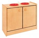 Skříňka dvoudveřová s dřezy -  M271007
