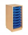 Skříňka s plastovými zásuvkami F1 MIKI ART - ZS08101