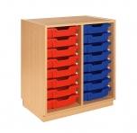 Skříňka s plastovými zásuvkami MIKI ART - ZS08201.X21