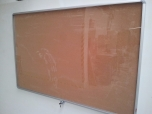 Vitrína prosklená korková 150 x 100 cm