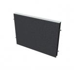 Akustický paraván na plochu stolů TPA S 800 - 80x42,5x4 cm
