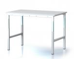 Pracovní (dílenský) výškově stavitelný stůl DPL 150 Z S, DPL 150 Z ESD