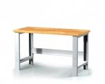 Pracovní (dílenský) výškově stavitelný stůl alcera Z20 K01 200 cm