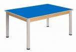 Stůl 120 x 80 cm výškově stavitelné nohy 58 - 76 cm - x56.15876