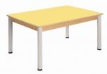 Stůl 80 x 60 cm výškově stavitelné nohy 58 - 76 cm - x56.25876