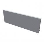 Akustický paraván na plochu stolů TPA S 1400 - 140x42,5x4 cm