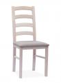 Jídelní židle KT 1 s čalouněným sedákem