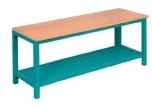 Šatní lavička s jäklovým roštem 150x35 cm