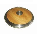 Atletický disk dřevo chrom 1,75 Kg - 3822