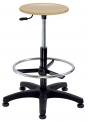 Pracovní židle NORA Alba dřevěný nebo polyuretanový sedák