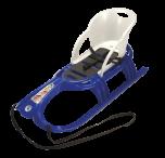 Sportovní sáňky s ohrádkou Snow Tiger Comfort - modré