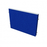 Akustický paraván na plochu stolů TPA S 600 - 60x42,5x4 cm