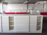 Archivační skříň s posuvnými dveřmi, 1200 x 2000 x 500 mm - kovová