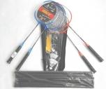 Badmintonová sada pro 4 HRÁČE II - 5310