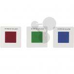 Barevné filtry - 3 primární barvy