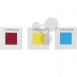 Barevné filtry - 3 sekundární barvy