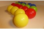Barevné plastové balónky míčky 7 cm do dětského hracího bazénu dětských koutů 500 ks
