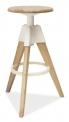 Barová výškově nastavitelná židle BODO