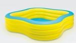 Bazén INTEX nafukovací ČTVEREC 229X229 cm - 57495