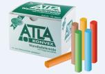 Bezprašné tabulové křídy ATLA Konvex mix 6 barev, 72 ks