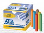 Bezprašné tabulové křídy ATLA Compact mix 6 barev, 100 ks
