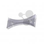 Bikonkávní čočka, R = 150 mm