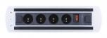 Zásuvkový elektricky otočný panel Vault BTCZ 010