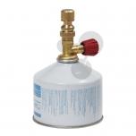 Bunsenův laboratorní kahan pro plynovou kartuši s ventilem
