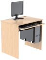 Celodřevěný PC stůl s výsuvem pro klávesnici