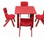 Dětský plastový čtvercový stolek stůl 62x62 cm 5711
