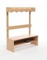 Dětská dřevěná kompletní šatnička - 20.040