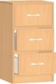 Dětská dřevěná skříňka se zásuvkami 0L006M