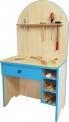 Dětský dřevěný montážní stůl 0L230M