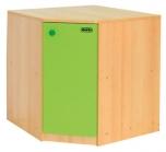 Dětská kuchyňská skříňka vnitřní rohová 0L069M