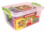 Dětská magnetická stavebnice MAGFORMERS Univerzal 47 dílů v boxu 8560304