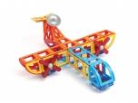 Dětská magnetická stavebnice MAGFORMERS Master Plus 123 dílů v boxu 8560413
