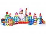 Dětská magnetická stavebnice MAGFORMERS Jumbo box 147 dílů v boxu 8560306