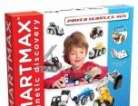 Dětská magnetická stavebnice SMARTMAX Stroje 77SMX303