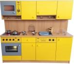 Dětská moderní kuchyňka se spotřebiči 0L075M