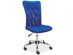 Dětská otáčecí židle Q-122-modrá
