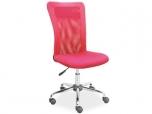 Dětská otáčecí židle Q-122-růžová