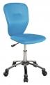 Dětská otočná židle - Q-037 modrá