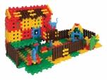 Dětská plastová konstrukční stavebnice Domek se zahradou 04900970