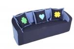 Dětská pohovka, sedačka trojmístná - N1007