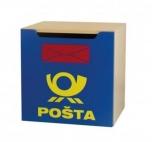 Dětská skříňka Vario s dvířky pošta 50x50x40 cm 0L771